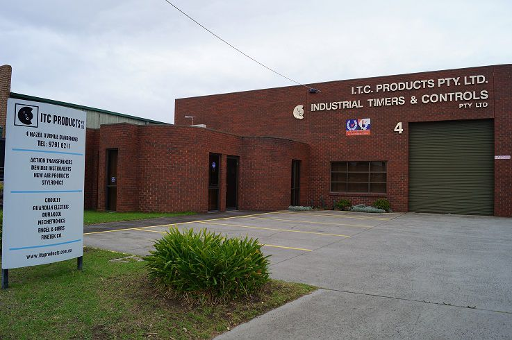 Building where we manufacture electronic industrial control equipment
