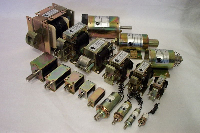 Some of our AC laminated solenoids